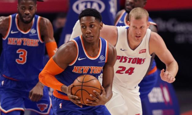Knicks Make It Rain in Detroit
