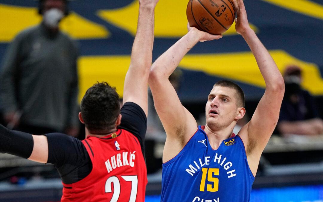 Nikola Jokic, Shorthanded Nuggets End Blazers Season